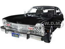 1974 FORD MAVERICK BLACK 1/24 DIECAST MODEL CAR BY MOTORMAX 73326