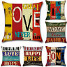 Gypsy Hippie Hiphop Cushions Cover Home Decor Linen Sofa Waist Throw Pillow Case