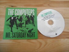 CD Indie computer-Mr Saturday Night (3) canzone PROMO One Little Indian