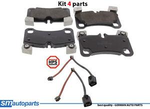 PORSCHE CAYENNE Kit de plaquettes de frein frein à disque avant 95535293960