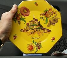 Assiette mont saint Michel ancienne p 1247 H&D France heni delcourt