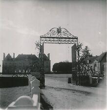 Haras National du Pin c. 1960 - Grilles Entrée du Haras Orne - Div 10738