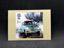 Flying Ford Anglia Ron & Harry Potter Collectible Stamp Postcard Royal Mail