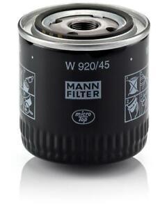 Mann-filter Oil Filter W920/45 fits FORD AUSTRALIA FALCON FG 4.0 i Turbo XR6/G6