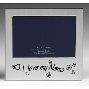 I Love My Nana Photo Frame Grandmother Birthday Present Grandma Occasion Gifts