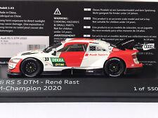 Spark 502.20.001.31 Audi RS5 René Rast Audi Team Rosberg DTM Champion 2020 1:43