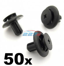 50x 7mm Plastic Trim Clips for Subaru Wheel Arch Linings & Engine Bay Covers