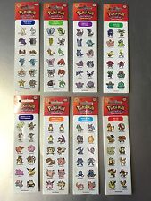 Pokemon Go Gotta Catch 'em All Sticker 8 Mal Jeweils 12 Klebesticker Aufkleber