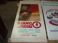 Django Nicht Vergeben Plakat Original 1967