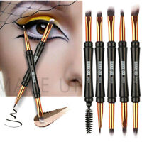 Makeup Brush Double-end Eyeshadow Eyelash Brush Applicator Makeup Cosmetic Tool