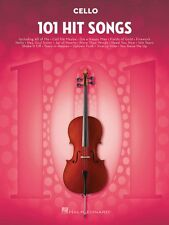 101 Hit Songs for Cello Instrumental Folio Book New 000197190