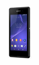 Sony Xperia E3 E3 D2203 - 4GB - Black (Unlocked) Smartphone Brand New