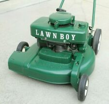 Vintage Lawn Boy Lawn Mower Brick Top 18 inch 2-Cycle Engine Runs Late 50's Push
