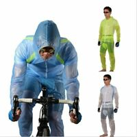 RockBros Bike Cycling Skin Jersey Coat and Pants TPU Wind Suit S-4XL