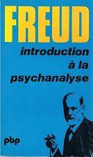 FREUD INTRODUCTION A LA PSYCHANALYSE + PARIS POSTER GUIDE