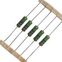 from £0.35/each 0.22-470 ohm Round 5W Wirewound Resistors