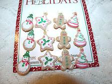 MINI Gingerbread Ornaments Tree Craft Christmas Miniature Dollhouse  Snowman Man