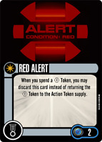 Star Trek Attack Wing OP Red Alert Card