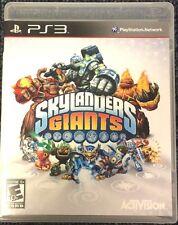 * Sony PlayStation 3 PS3 Giants Activision Skylanders Game Case Artwork       ��