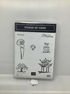 Stampin Up! POWER OF HOPE cling stamp set NEW