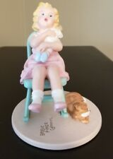Danbury Mint Lullaby Figurine.Bessie Pease Gutmann Collection 1993