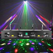 Samger 460mW Laser Light Red Green Yellow Purple 4 Beam DMX Stage DJ Party Show