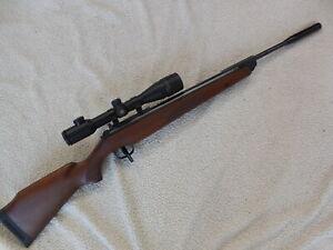 Diana 350 Magnum .22 Caliber with RWS 0-7X42ao mildot scope