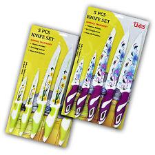 5-teiliges Messerset Küchenmesser Schälmesser Messer Kochmesser DG101-102