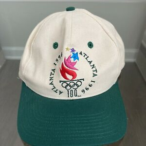 NWOT Vintage 1996 Atlanta Olympic Games Collection Hat Cap The Game Adjustable