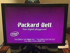 "PACKARD BELL DESKTOP COMPUTER ISTART D2391 & MOUSE AND KEYBOARD PLUS 22"" MONITOR"