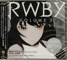 OST-RWBY VOLUME 3 ORIGINAL SOUNDTRACK VOCAL ALBUM-JAPAN CD F56