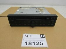 98-03 AUDI A6 AM-FM-STEREO radio Cassette player CONCERT 1 DIN receiver OEM
