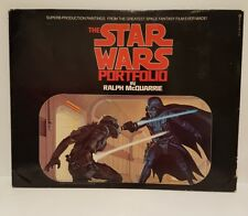 Vintage Star Wars portfolio by Ralph McQuarrie 1977 prints collectable