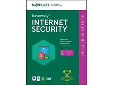 New Kaspersky Internet Security 2016 3Pcs (Key Card)-Free Upgrade to 2017-2018