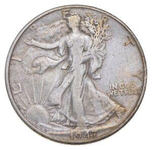 Better 1947-D - US Walking Liberty 90% Silver Half Dollar Coin Set Break *904