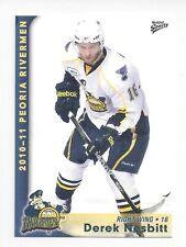 2010-11 Peoria Rivermen (AHL) Derek Nesbitt (Atlanta Gladiators)