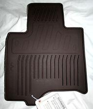 2009 TO 2012 Infiniti FX35 Rubber Floor Mats - FACTORY OEM ACCESSORIES - BROWN