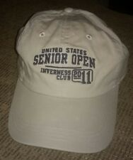 NEW - US SENIOR OPEN Inverness Club golf 2011 baseball hat Ohio embroidery WNWO