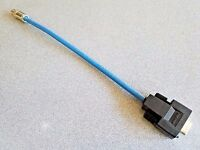 Allen Bradley 1770-CD Data Hwy AMP RGB 9 Pin Female to CJ70-9 Connector 12 inch