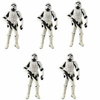 "Lot 5 Hasbro 3.75"" Star Wars Stormtroopers OTC Trilogy Action Figure Boy Toy"