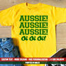 Aussie Oi T Shirt Funny Australian Aussie Dad Brother Cousin Holiday Gift Top