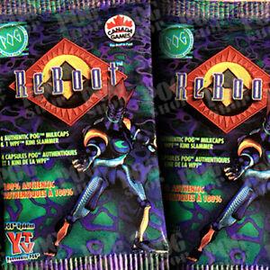 POGS 1995 Sealed Pack CANADA GAMES REBOOT - Super Ultra Rare - POG SHOP