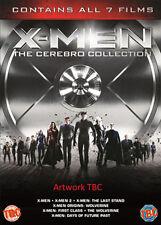 DVD:X-MEN FRANCHISE BOXSET - THE CEREBRO COLLECTION (7 TITL - NEW Region 2 UK