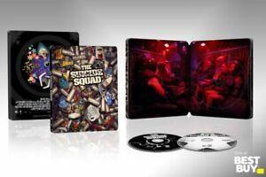 The Suicide Squad SteelBook (4K Ultra HD/Blu-ray/Digital) Ship 10/26