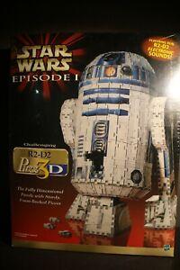 Star Wars Episode 1 R2-D2 Puzz3D 3D Puzzle Sound 708 Pieces 1999 NEW SEALED.