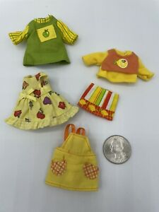 Barbie Kelly Tommy Doll Baby NURSERY Clothing Lot ACCESSORIES Clothes OVERALLS