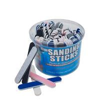 DuraSand Mini Sanding Sticks (100 ct) Bucket ASSORTED GRITS modeling hobby model