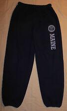 Vtg NCAA JERZEES University Of Maine Black Bears Jogging Athletic Pants S Mens
