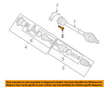 AUDI OEM 06-07 A3 Quattro Drive-Front Suspension-Axle Assembly Bolt N90991002