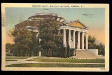 Hendricks Chapel Syracuse University College Syracuse NY New York  Postcard